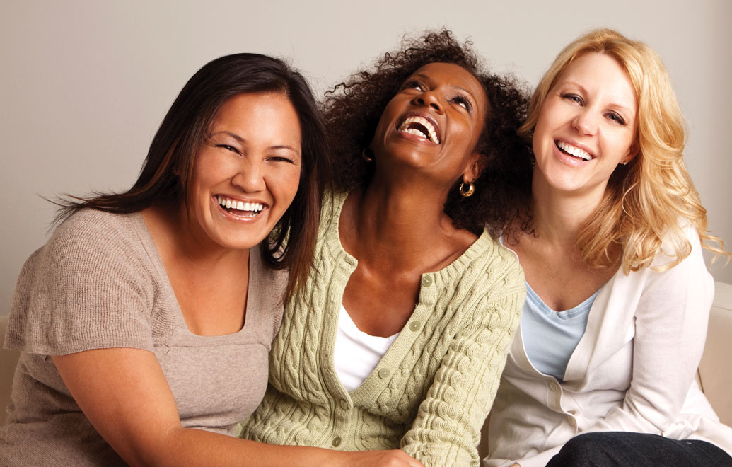 women-laughing-together